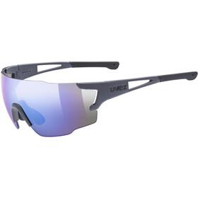 UVEX Sportstyle 804 Brille dark grey matt/mirror blue